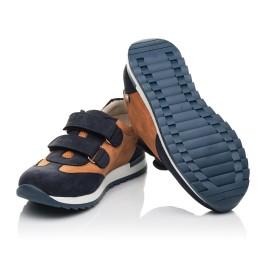 Детские кроссовки Woopy Fashion темно-синие для мальчиков натуральный нубук размер 26-40 (5076) Фото 3