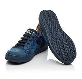 Детские кеди Woopy Fashion синие для мальчиков натуральный нубук размер 29-37 (5078) Фото 2