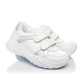 Детские кроссовки Woopy Fashion белые для девочек натуральная кожа размер 26-26 (5082) Фото 1