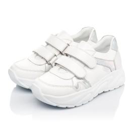 Детские кроссовки Woopy Fashion белые для девочек натуральная кожа размер 26-26 (5082) Фото 3