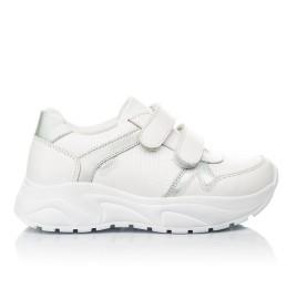 Детские кроссовки Woopy Fashion белые для девочек натуральная кожа размер 26-26 (5082) Фото 4