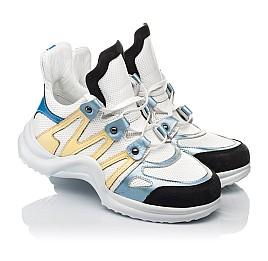Детские кросівки Woopy Fashion белые для девочек натуральная кожа размер 36-39 (5085) Фото 1