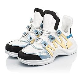 Детские кросівки Woopy Fashion белые для девочек натуральная кожа размер 36-39 (5085) Фото 3