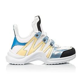 Детские кросівки Woopy Fashion белые для девочек натуральная кожа размер 36-39 (5085) Фото 4