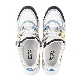 Детские кросівки Woopy Fashion белые для девочек натуральная кожа размер 36-39 (5085) Фото 5