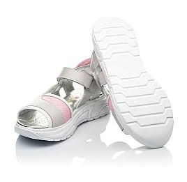 Детские босоніжки Woopy Fashion серые для девочек натуральная кожа размер 33-39 (5086) Фото 2