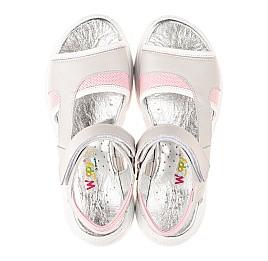 Детские босоніжки Woopy Fashion серые для девочек натуральная кожа размер 33-39 (5086) Фото 5