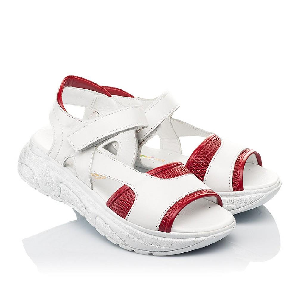 Детские босоножки Woopy Fashion белые для девочек натуральная кожа размер 33-39 (5087) Фото 1