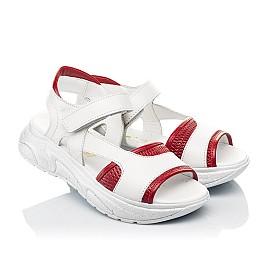 Детские босоножки Woopy Fashion белые для девочек натуральная кожа размер 33-37 (5087) Фото 1