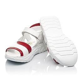 Детские босоножки Woopy Fashion белые для девочек натуральная кожа размер 33-37 (5087) Фото 2