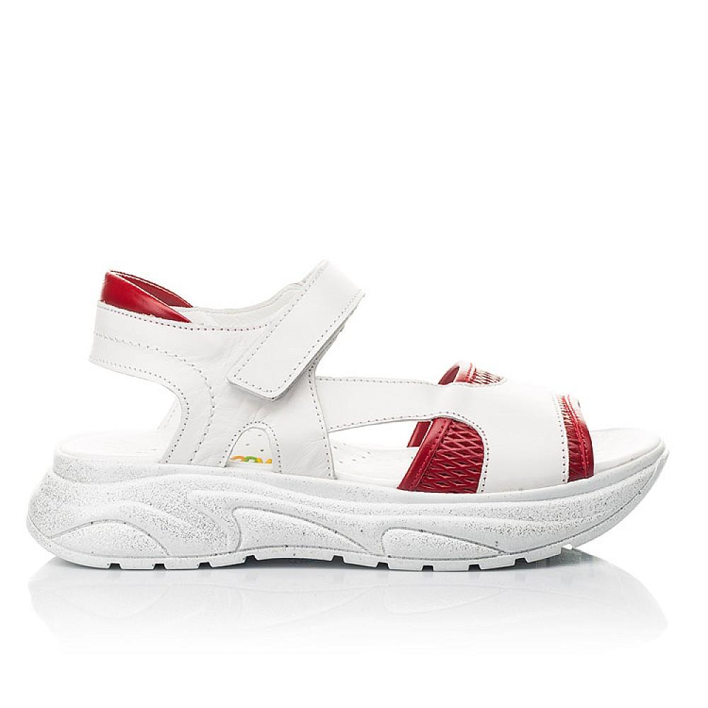 Детские босоножки Woopy Fashion белые для девочек натуральная кожа размер 33-39 (5087) Фото 4