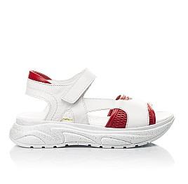 Детские босоножки Woopy Fashion белые для девочек натуральная кожа размер 33-37 (5087) Фото 4