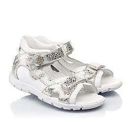 Детские босоножки Woopy Fashion белые для девочек натуральная кожа размер 23-36 (5089) Фото 1