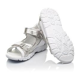 Детские босоножки Woopy Fashion белые для девочек натуральная кожа размер 23-36 (5089) Фото 2