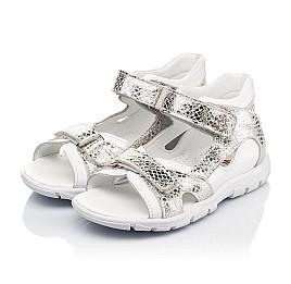 Детские босоножки Woopy Fashion белые для девочек натуральная кожа размер 23-36 (5089) Фото 3