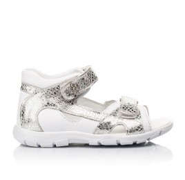 Детские босоножки Woopy Fashion белые для девочек натуральная кожа размер 23-36 (5089) Фото 4