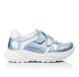 Детские кросівки Woopy Fashion голубые для девочек натуральная кожа размер 27-38 (5091) Фото 4