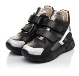 Детские демісезонні черевики матеріал (підкладка шкіра) Woopy Fashion черные для девочек  натуральная кожа и нубук размер 29-38 (5098) Фото 3