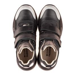Детские демісезонні черевики матеріал (підкладка шкіра) Woopy Fashion черные для девочек  натуральная кожа и нубук размер 29-38 (5098) Фото 5