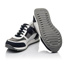 Детские кросівки Woopy Fashion белые для мальчиков натуральная кожа, замша размер 23-33 (5100) Фото 2