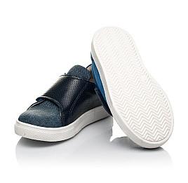 Детские кеди Woopy Fashion синие для мальчиков натуральный нубук размер 19-25 (5102) Фото 2