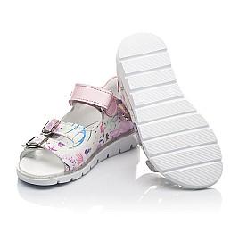 Детские босоніжки Woopy Fashion разноцветные для девочек натуральный нубук размер 21-30 (5113) Фото 2