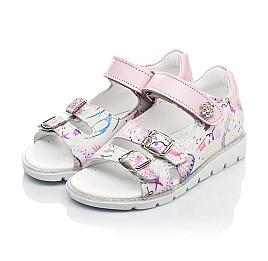 Детские босоніжки Woopy Fashion разноцветные для девочек натуральный нубук размер 21-30 (5113) Фото 3