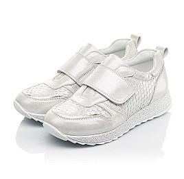 Детские кросівки Woopy Fashion серебряные для девочек натуральный нубук размер 32-39 (5114) Фото 3