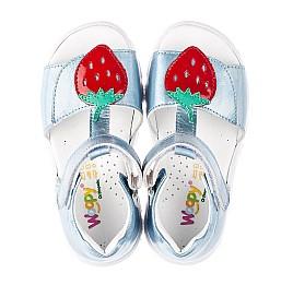 Детские босоніжки Woopy Fashion голубые для девочек натуральная кожа размер 21-30 (5117) Фото 5