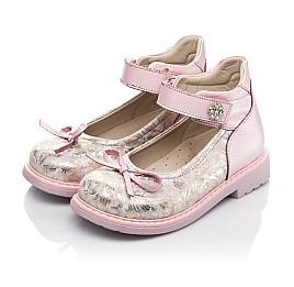 Детские туфлі Woopy Orthopedic розовые для девочек  натуральная кожа и нубук размер 19-36 (5119) Фото 3
