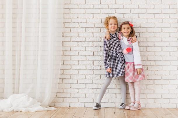 Девочка обута в детские туфли Woopy Orthopedic розовые (5119) Фото 1