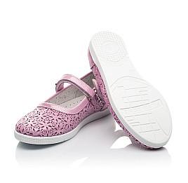 Детские туфли Woopy Fashion розовые для девочек натуральный нубук размер 28-35 (5120) Фото 2