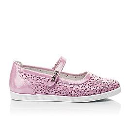 Детские туфли Woopy Fashion розовые для девочек натуральный нубук размер 28-35 (5120) Фото 4