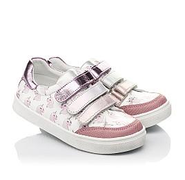 Детские кросівки Woopy Fashion розовые для девочек натуральная кожа размер 18-35 (5121) Фото 1