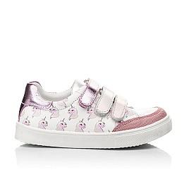 Детские кросівки Woopy Fashion розовые для девочек натуральная кожа размер 18-35 (5121) Фото 3