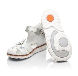 Детские босоніжки Woopy Orthopedic белые для девочек натуральная кожа размер 22-28 (5125) Фото 2