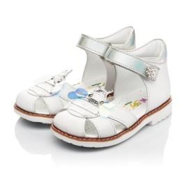 Детские босоніжки Woopy Orthopedic белые для девочек натуральная кожа размер 22-28 (5125) Фото 3