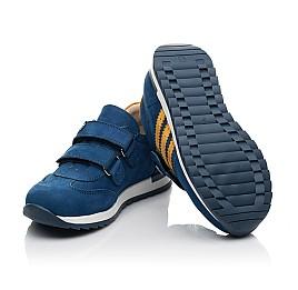 Детские кроссовки Woopy Fashion синие для мальчиков натуральный нубук размер 19-33 (5128) Фото 2