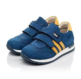 Детские кроссовки Woopy Fashion синие для мальчиков натуральный нубук размер 19-33 (5128) Фото 3