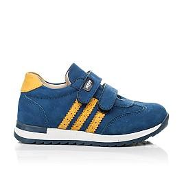 Детские кроссовки Woopy Fashion синие для мальчиков натуральный нубук размер 19-33 (5128) Фото 4