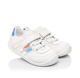 Детские  Woopy Fashion белые для девочек натуральная кожа размер 19-25 (5133) Фото 1