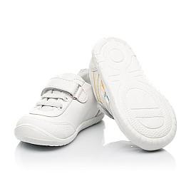 Детские кроссовки Woopy Fashion белые для девочек натуральная кожа размер 19-25 (5133) Фото 2
