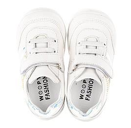 Детские кроссовки Woopy Fashion белые для девочек натуральная кожа размер 19-25 (5133) Фото 5