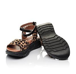 Детские босоножки Woopy Fashion черные для девочек натуральная кожа размер 35-38 (5136) Фото 2