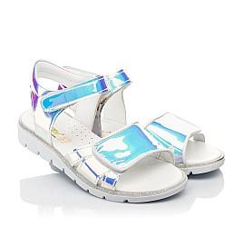 Детские босоножки Woopy Fashion серебряные для девочек современный искусственный материал размер 28-35 (5137) Фото 1