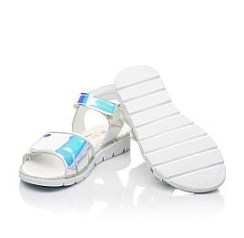 Детские босоножки Woopy Fashion серебряные для девочек современный искусственный материал размер 28-35 (5137) Фото 2