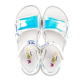 Детские босоножки Woopy Fashion серебряные для девочек современный искусственный материал размер 28-35 (5137) Фото 5