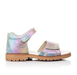 Детские босоножки Woopy Fashion фиолетовые для девочек натуральный нубук размер 39-39 (5138) Фото 4