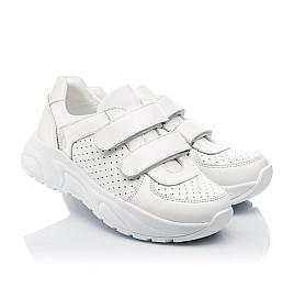 Детские кроссовки Woopy Fashion белые для девочек натуральная кожа размер 31-39 (5140) Фото 1