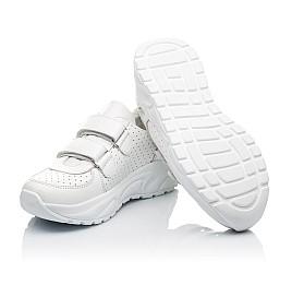 Детские кроссовки Woopy Fashion белые для девочек натуральная кожа размер 31-39 (5140) Фото 2